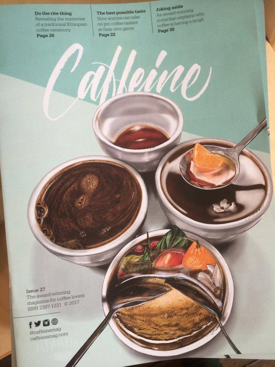 Starbucks EMEA News On Twitter The Latest Issue Of CaffeineMag - Cuisine pro 27