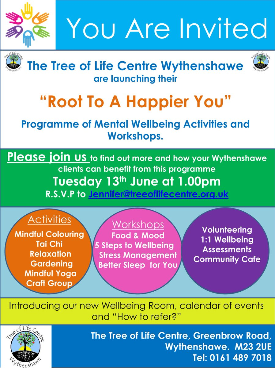 Tree Of Life Centre On Twitter Excited For The Launch Of Our