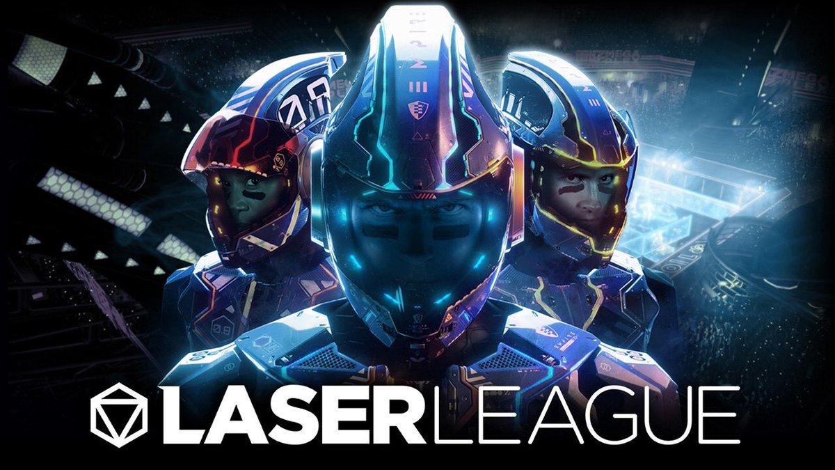 Laser League game