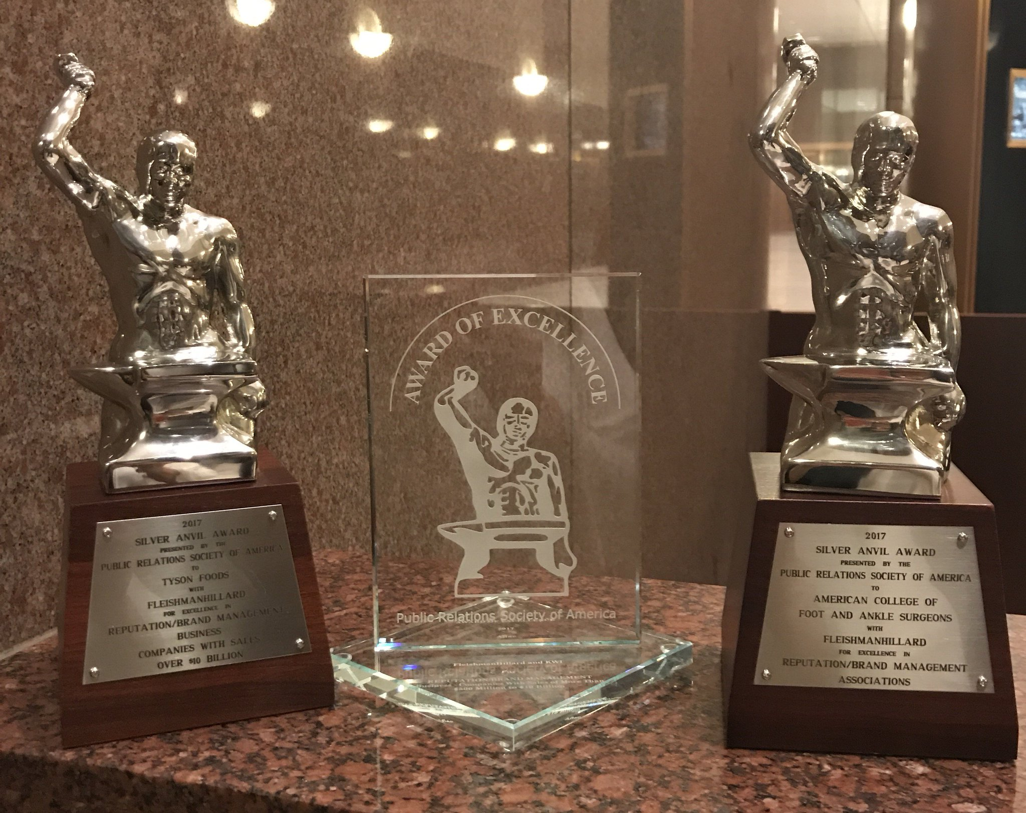 So proud of our team for bringing home some great wins at last night's #SilverAnvils2017! https://t.co/uR9RVDePtY https://t.co/oZ37MY91IB