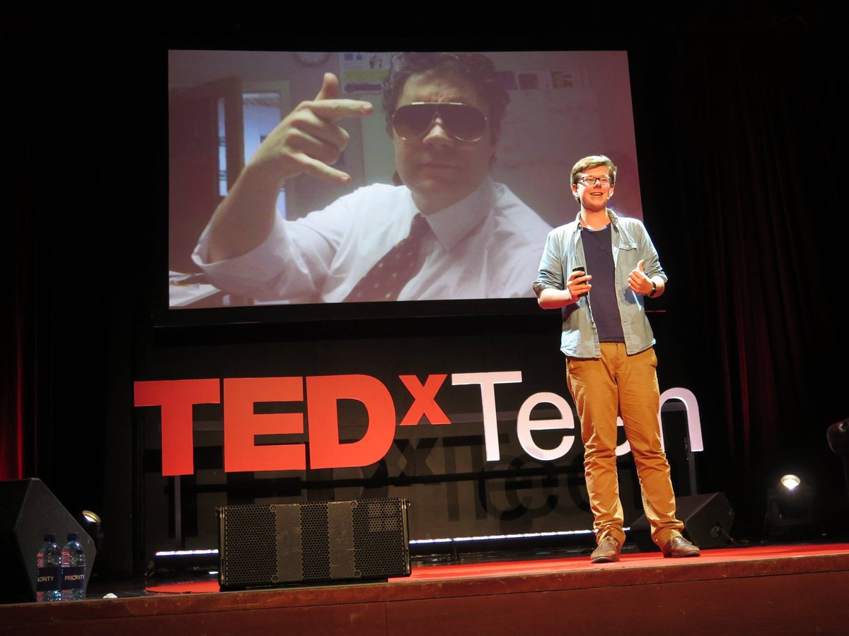 Quando a brincadeira vira negócio - Erik Finman no TEDx Teen