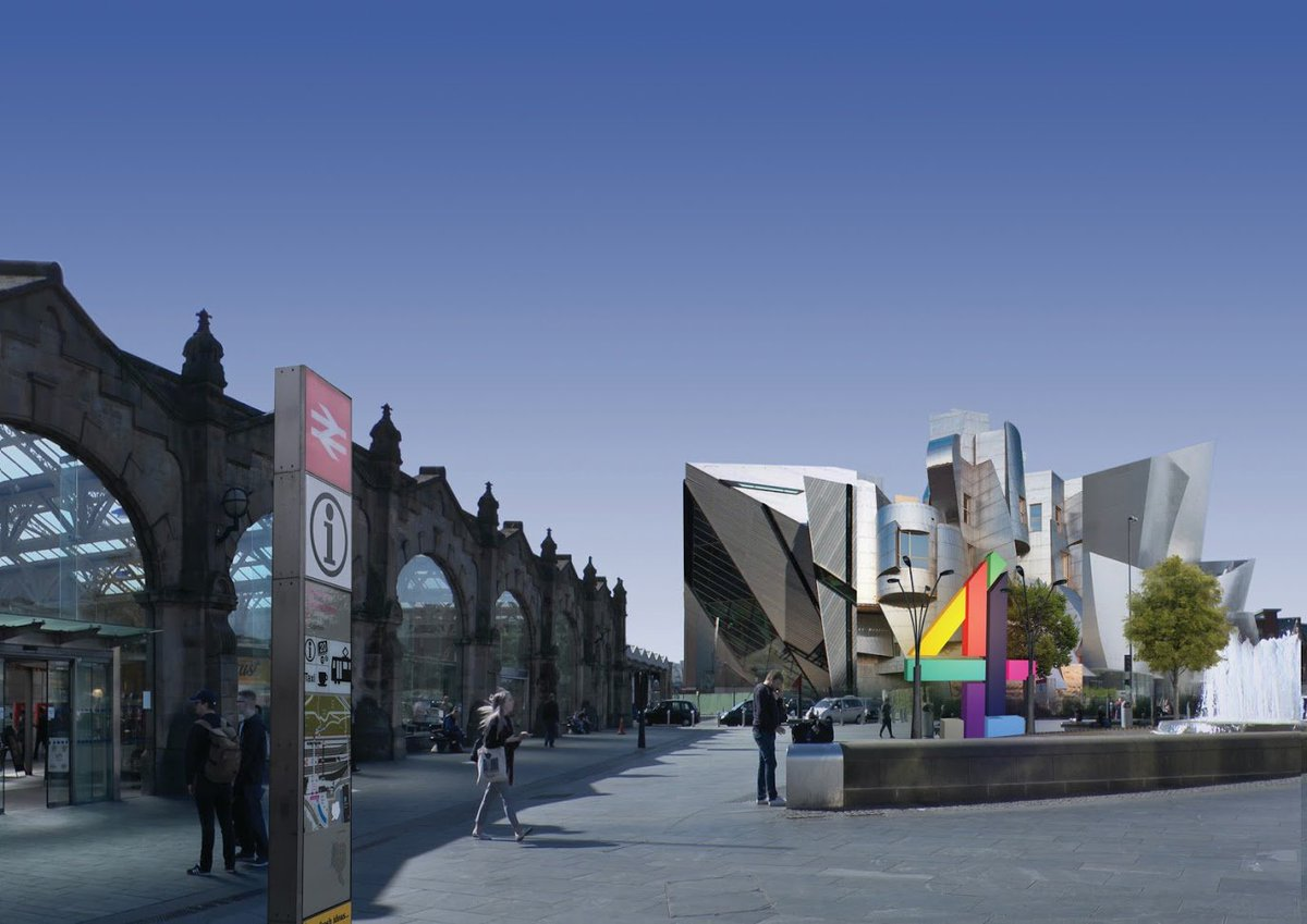 https://t.co/ZbUIypzriK - First picture showing 'style of building' of how Channel 4 base could look in #Sheffield https://t.co/rVzpHTVf0M