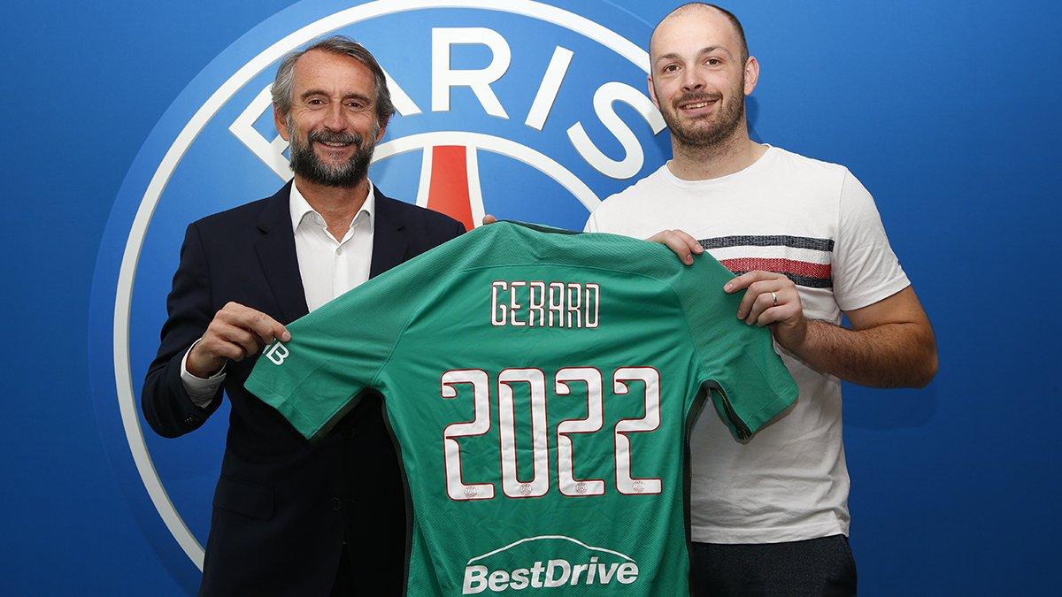 cheap for discount ce983 12428 Vincent Gérard actuellement à Montpellier jouera PSG ...