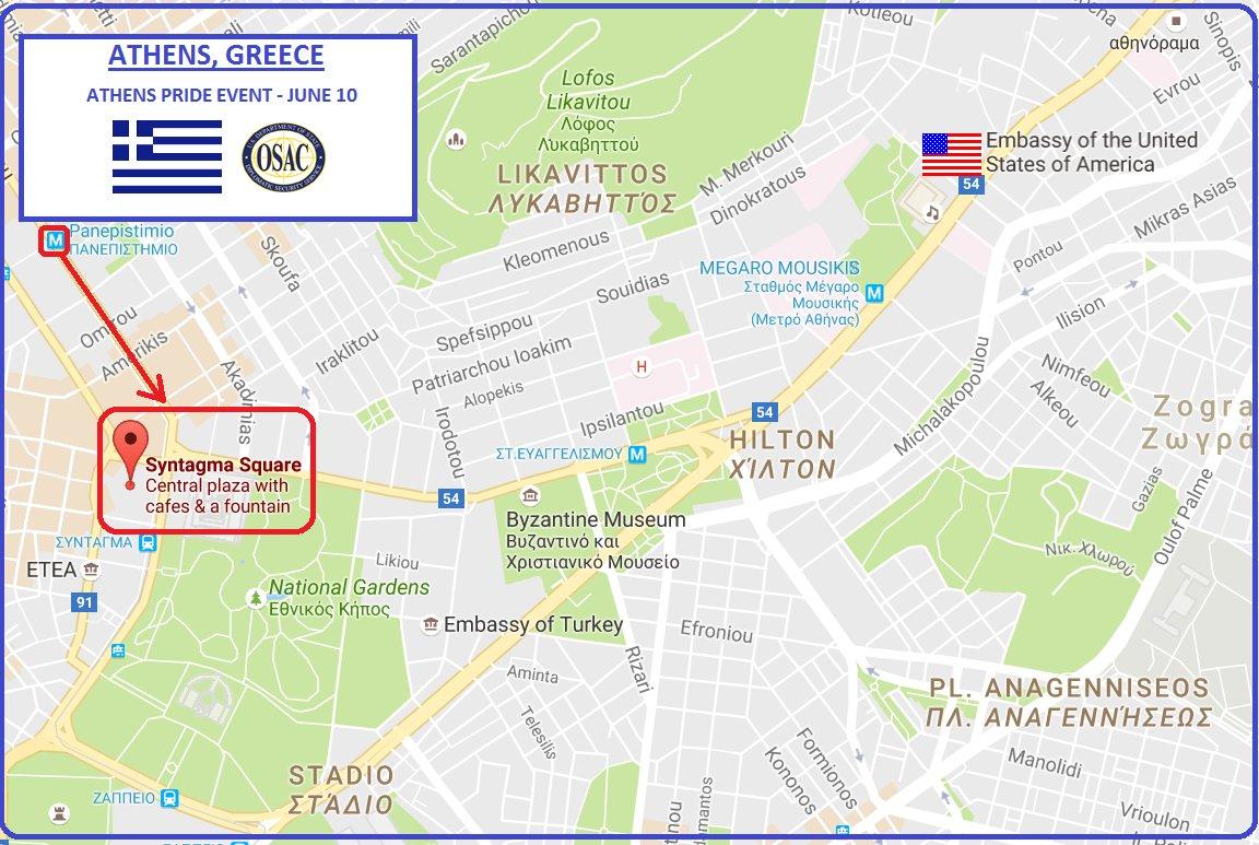 OSAC OSACState Twitter - Map us embassy bogota