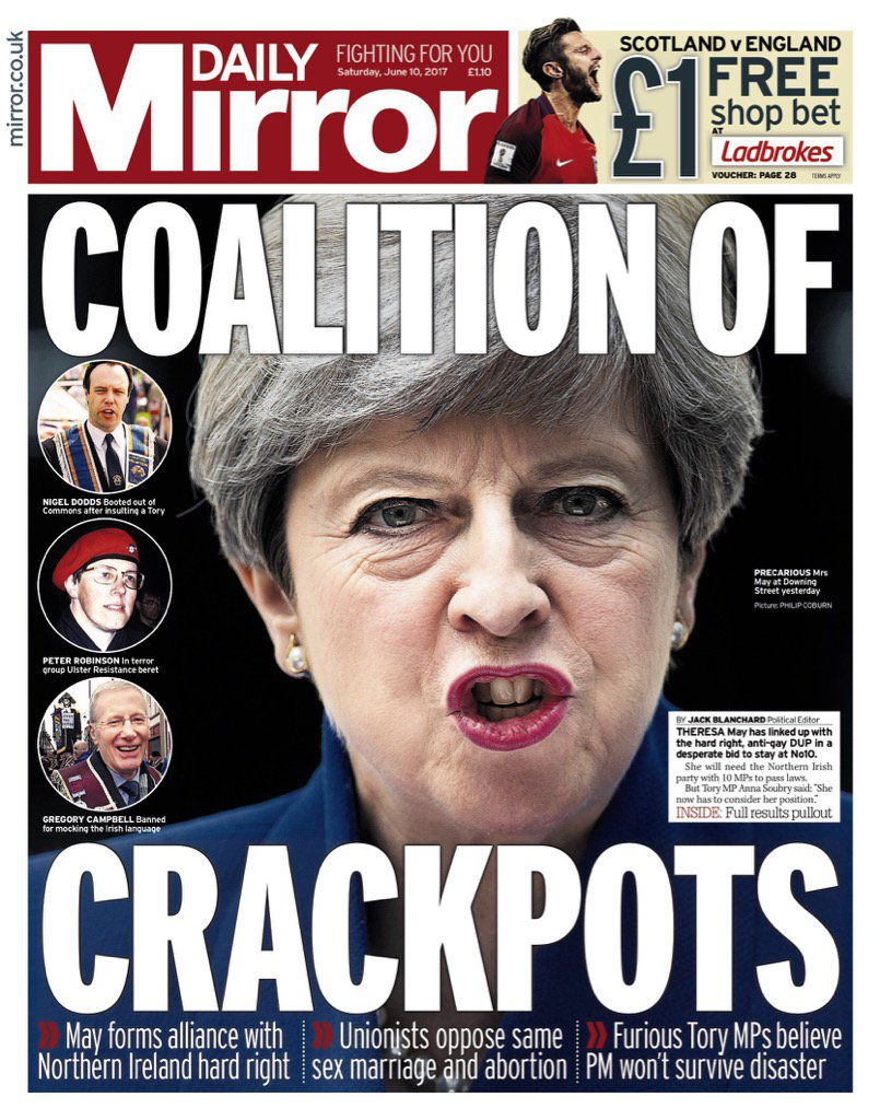 General election 2017 may 39 s 39 toxic 39 no 10 team blamed for for Sunday mirror