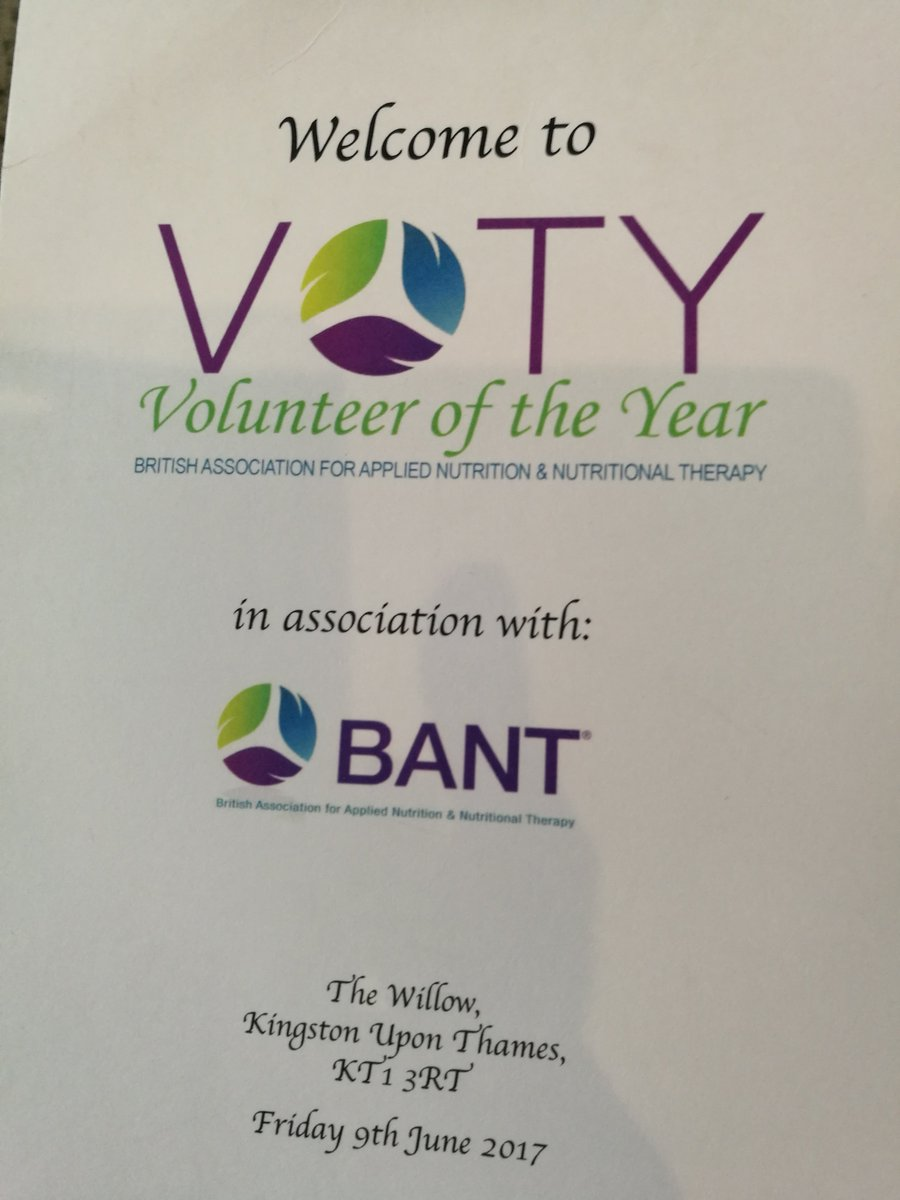 test Twitter Media - BANT Volunteer Awards at the Willow @BANTonline . Inspiring speakers, members and plans for the future. Amazing food too! #nutrition https://t.co/HiiXXQlzDc