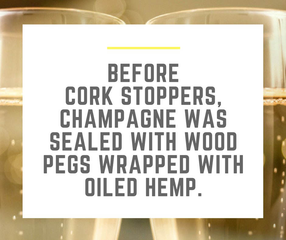 What&#39;s worse is the pegs would slip out, causing that precious champagne to go flat! #TheCorkHouse #CorkFacts #History #Champagne #Cork<br>http://pic.twitter.com/jtsUkpiu7e