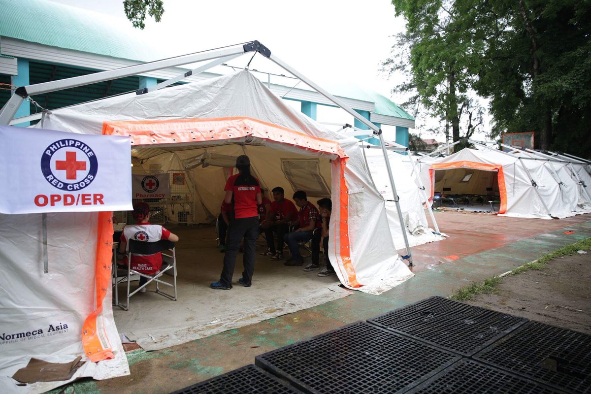 Philippine Red Cross on Twitter  IN PHOTOSPRC through the support of ICRC was able to set-up medical tents in Balo-i Lanao del Norte. #MarawiClashu2026   & Philippine Red Cross on Twitter: