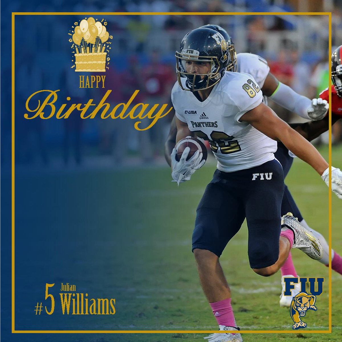 Fiu Football On Twitter Happy Birthday To Fiu Wide Receiver Julian
