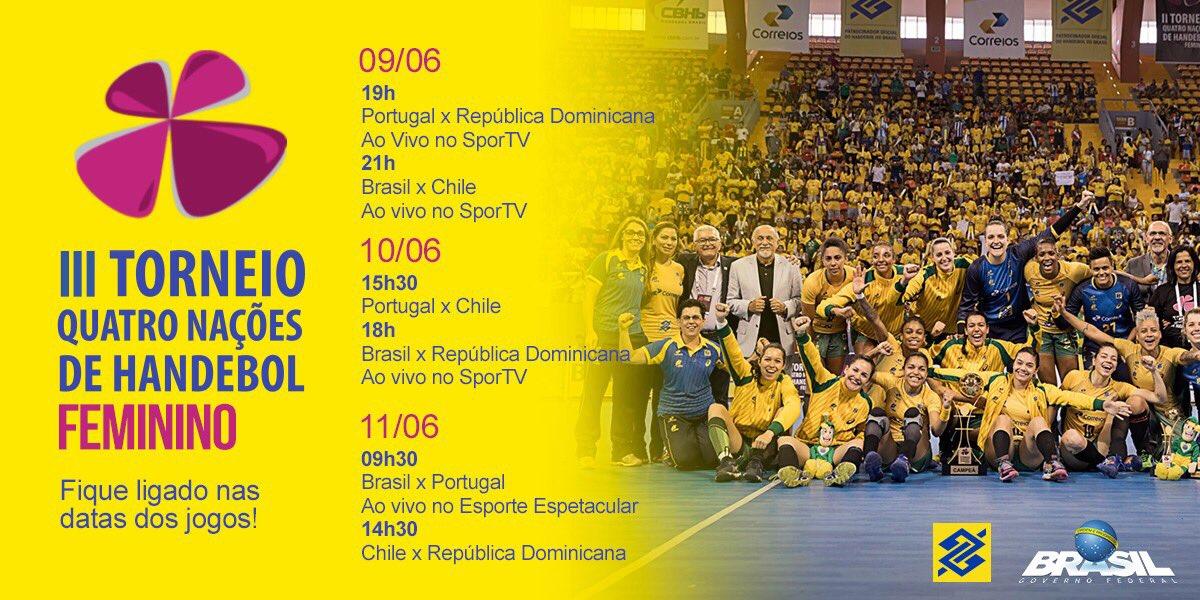 Alô #TorcidaBrasil! Vamos juntos torcer pela nossa Seleção Feminina de #Handebol? Confirme presença no evento: https://t.co/qcaeJit0Fz 🤾♂️