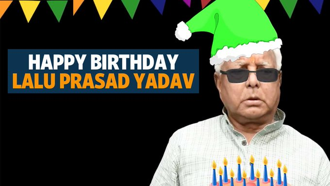 Watch | Happy birthday, Lalu Prasad Yadav