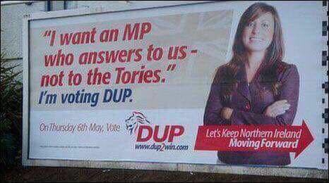 DUP election propaganda