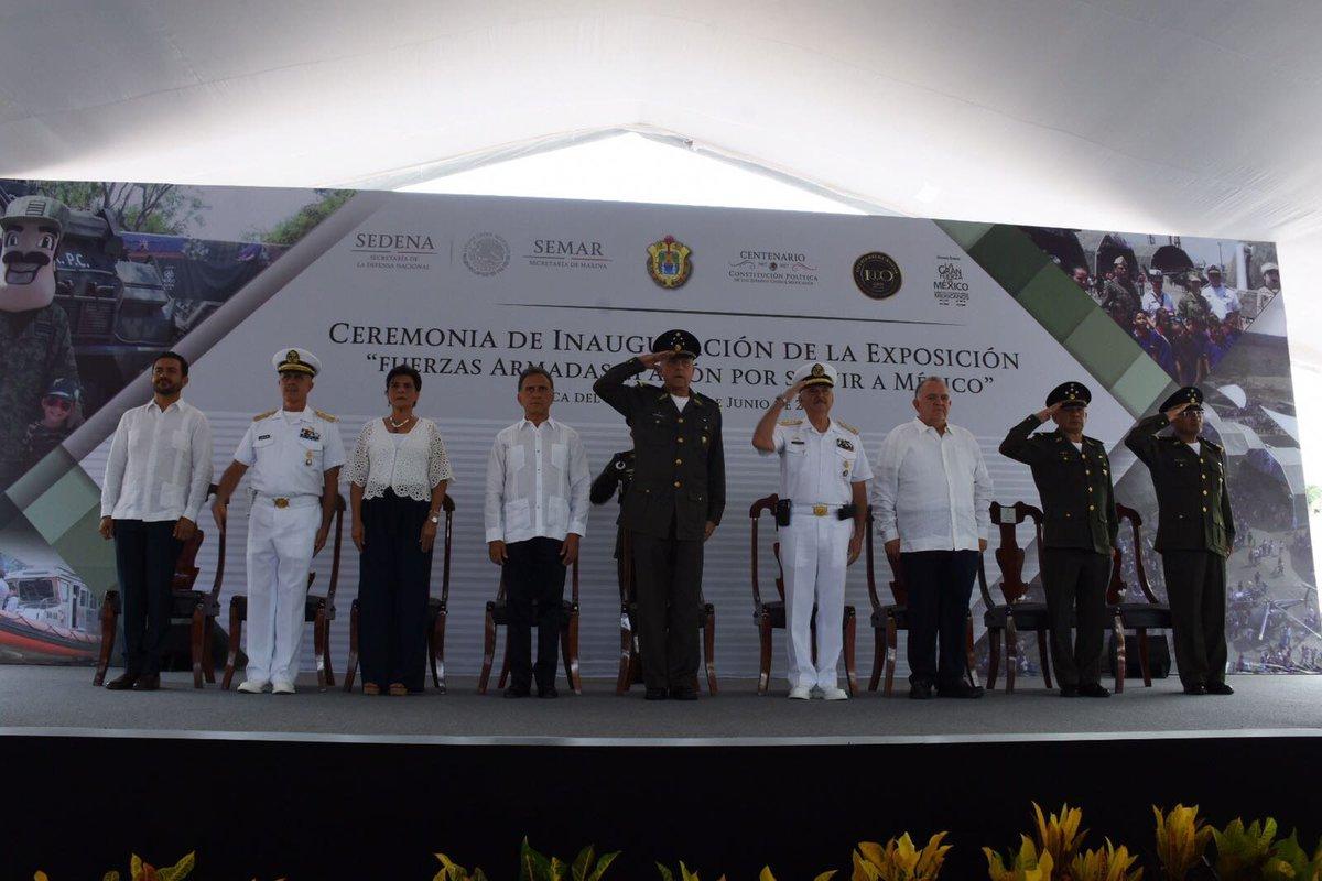 Salvador Cienfuegos destaca resultados en materia de seguridad en Veracruz