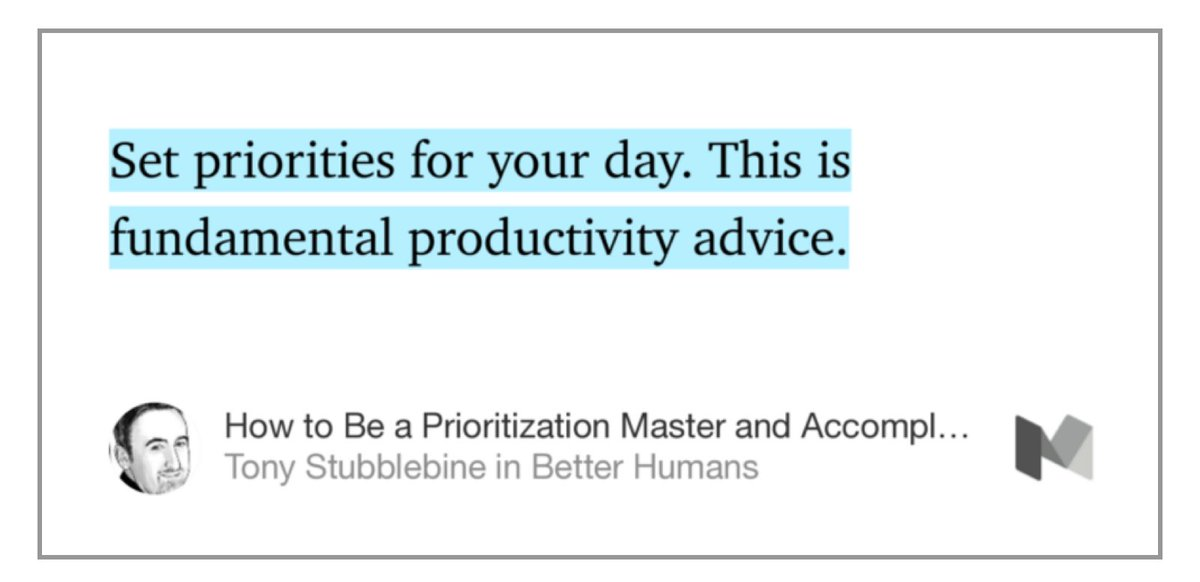 How to Be a Prioritization Master and Accomplish Massive Goals. https://t.co/mPtC22DvxA https://t.co/RTwT4fIoZd