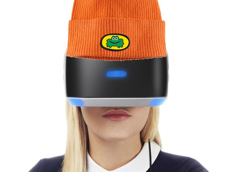 04995509823 unlikely prediction number 2 vr is refreshed with better tech shaped like  parappa the rapper s