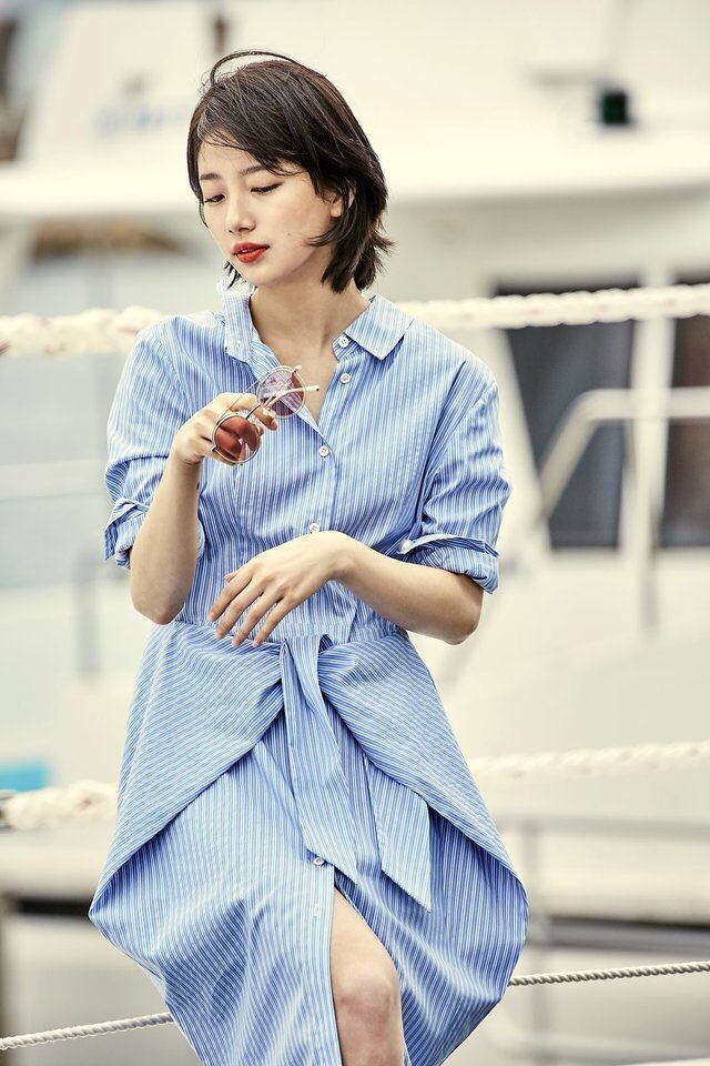"KshWithLove on Twitter: ""Short hair still pretty ️ #carincollection #BAESUZY #수지 #배수지 #Suzy # ..."