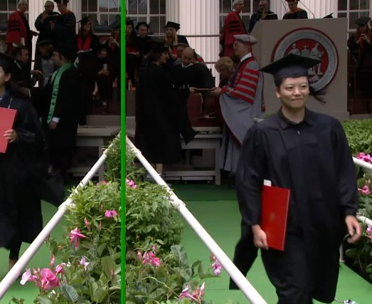 The amazing Angel Chen receives her diploma. Congrats! #MIT2017 Learn more about Angel: https://t.co/EfX9jX34vX @mitstudents @mit_alumni https://t.co/GcHrhVk8dF