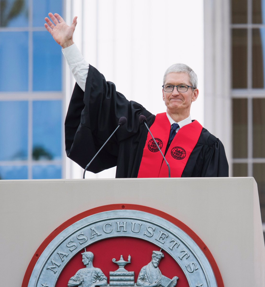 Congratulations, @MIT class of 2017! Today, all of humanity has good cause for hope.