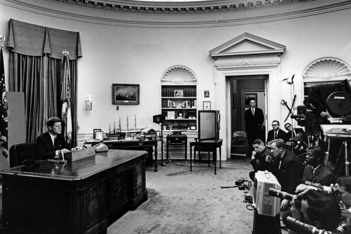 JFK announced this week 1963 that he would send to Congress the bill that became the Civil Rights Act of 1964:     #JFKL