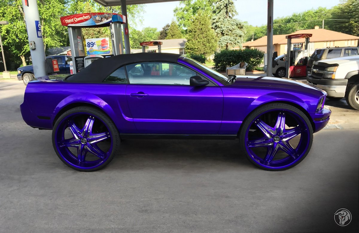 Diablo Wheels On Twitter Size Does Matter Custom Color Matched