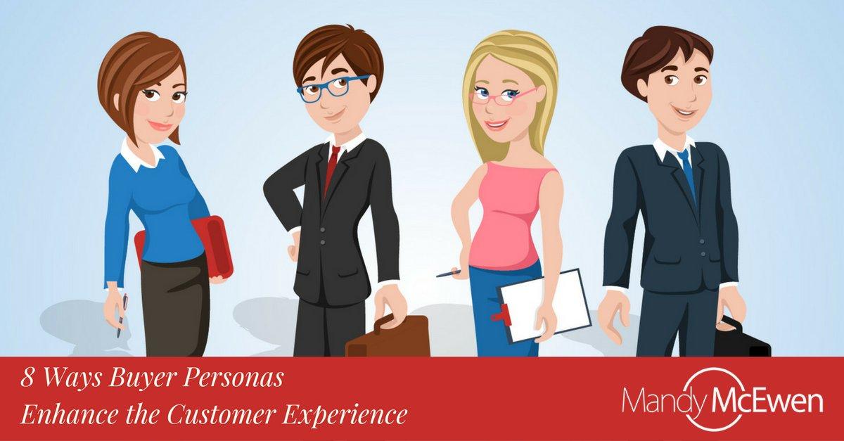 8 Ways Buyer Personas Enhance the #CustomerExperience & Your Business https://t.co/NmRiBNJQCX via @ModGirlMktg @MandyModGirl #Modgirltips