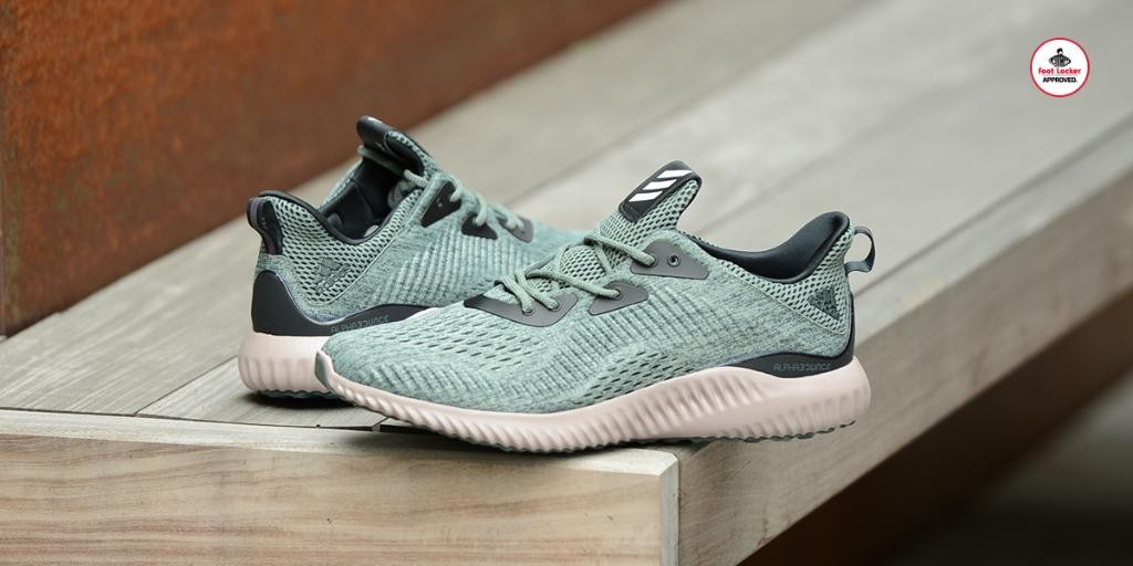 c1753b9c5 engineered mesh the trace green adidas alphabounce is in stores and online  here
