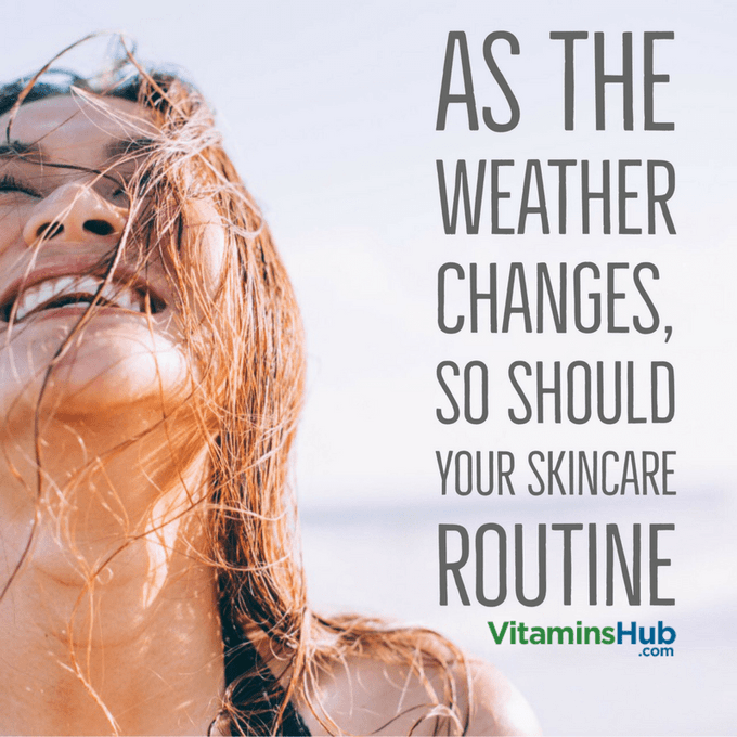 As The Weather Changes, So Should Your Skin Care Routine / Blogs