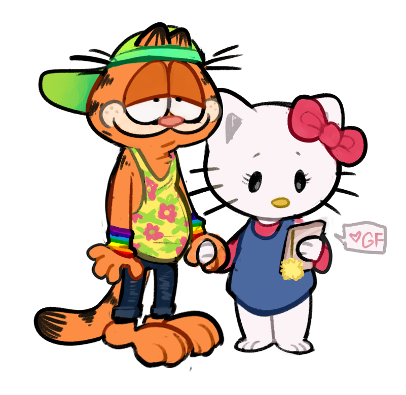 is hello kitty a gay symbol