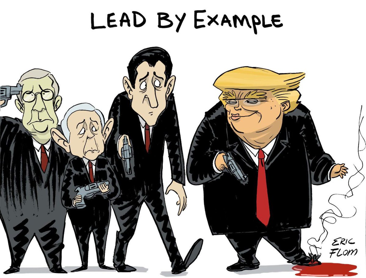 Image result for trump lead by example