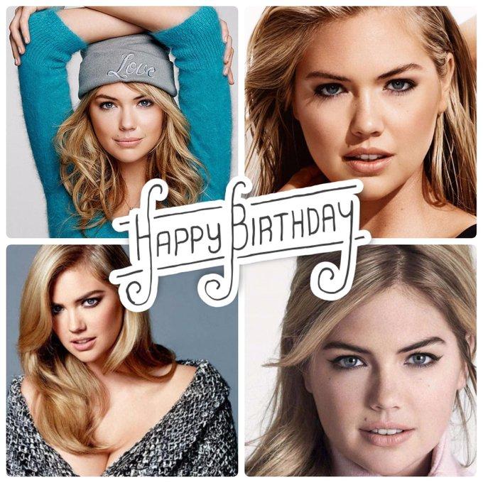 Happy birthday to Kate Upton!  Help us celebrate her