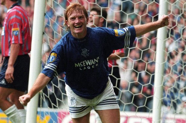 Happy birthday to Stuart McCall. Here\s a video of him drunk and falling off a car