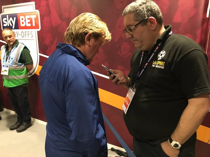 Happy Birthday to manager Stuart McCall, have a great day my friend