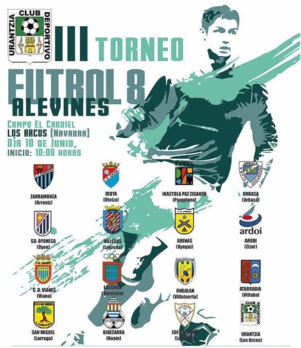 Desde La Banda - Fútbol Navarro (DLB-FN): III Torneo Alevín de Fútbol 8 del Club Deportivo Urantzia.