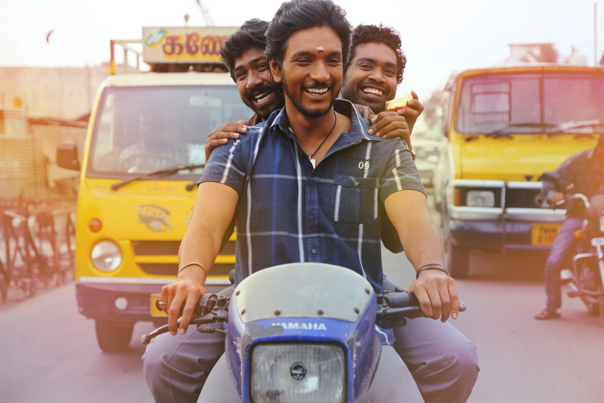 #Rangoon Everyone has done justice to their characterization @Gautham_Karthik @SANAKHAN_93 #Siddique BGM was too good @Composer_Vishal<br>http://pic.twitter.com/dyEbqKZQGf