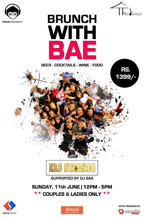 Come #Brunch with us at #Thalassa lounge tomorrow feat DJ .@nash909. Only INR 1399 AI. #SpecialOffer on .@dineout_india app. #BRUNCHwithBAE<br>http://pic.twitter.com/CgIKu2pbcM