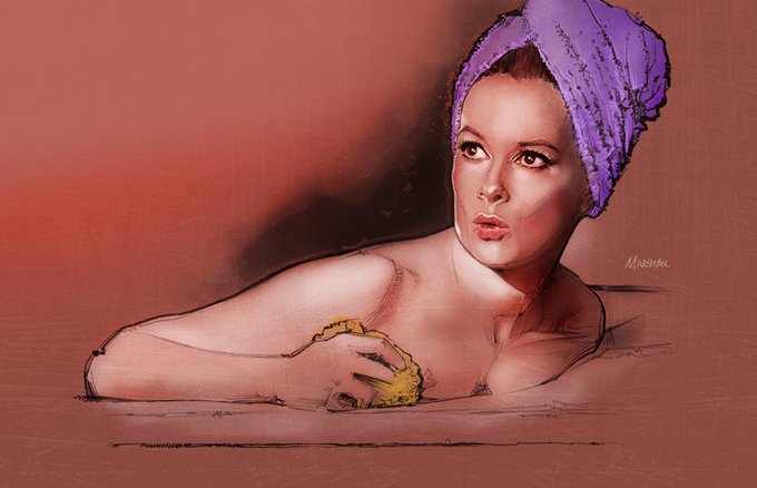 Happy 80th birthday to Luciana Paluzzi. Deadly and delicious.
