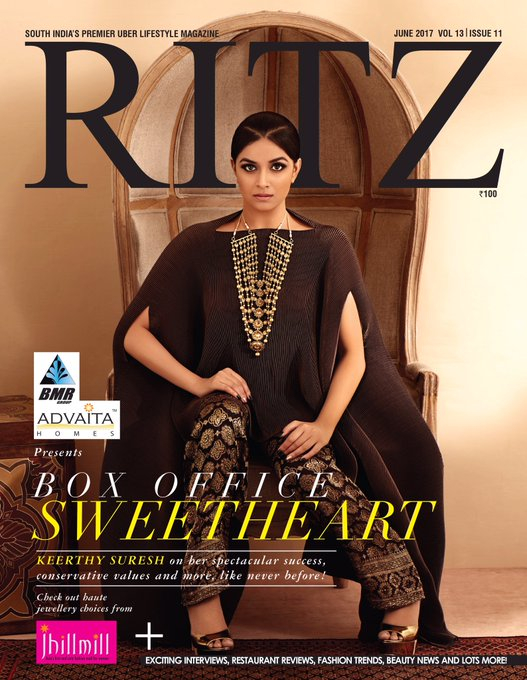 Glad to have worked for @RitzMagChennai and be on their cover now !! 😊 https://t.co/GnrxObOREi