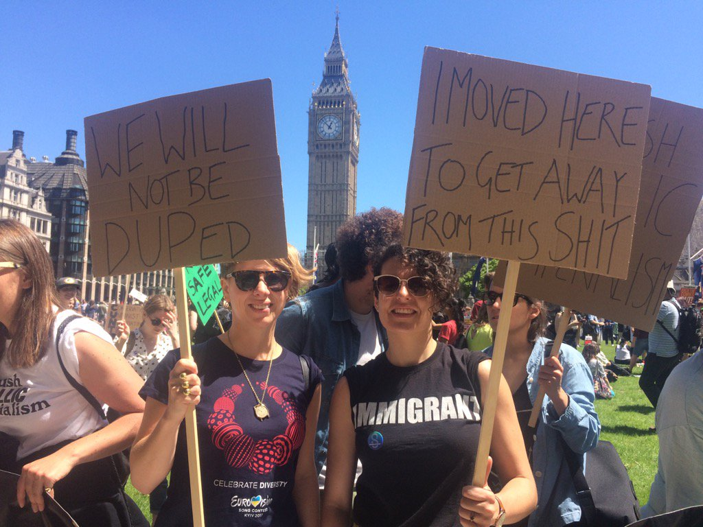 Lots of anger here at Tory alliance with anti-choice DUP #NotMyGovernment  Come and join us in Parliament Square! https://t.co/rxARf2B7qs