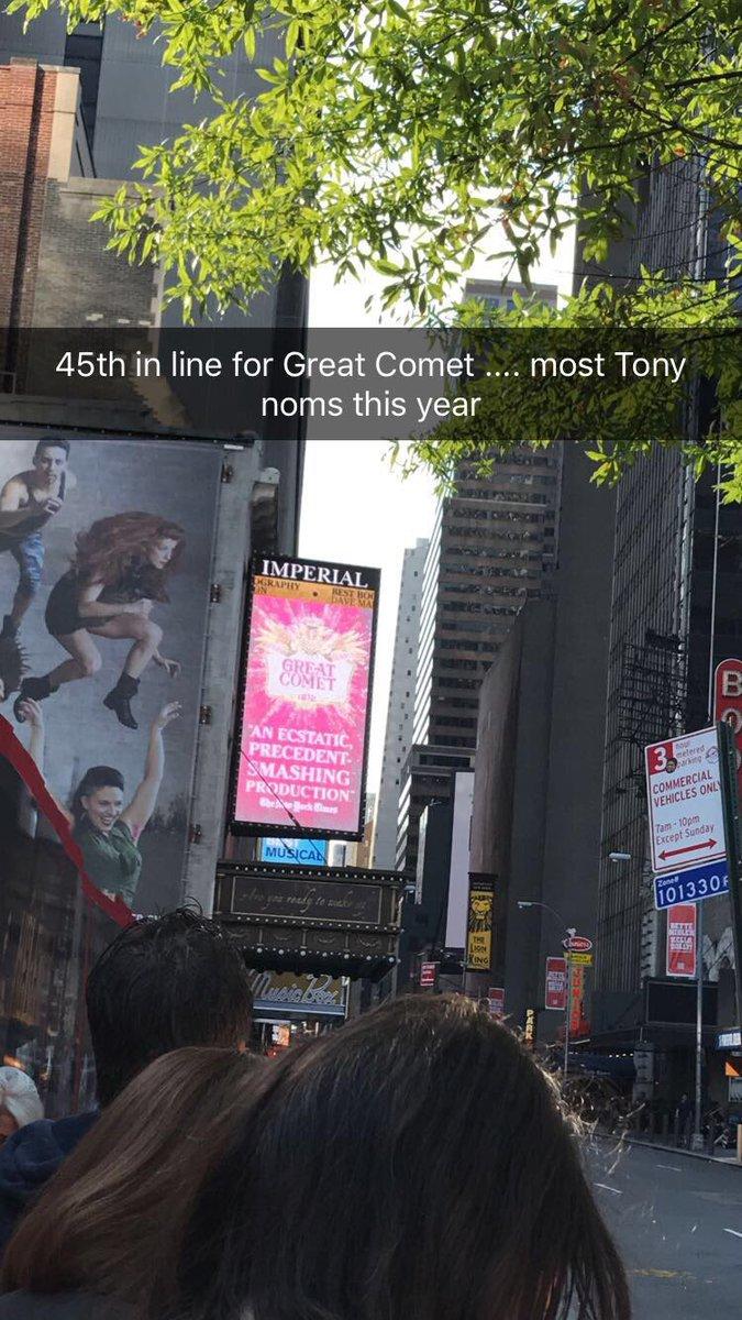 #TonyAwards2017 #tonyawardsweekend