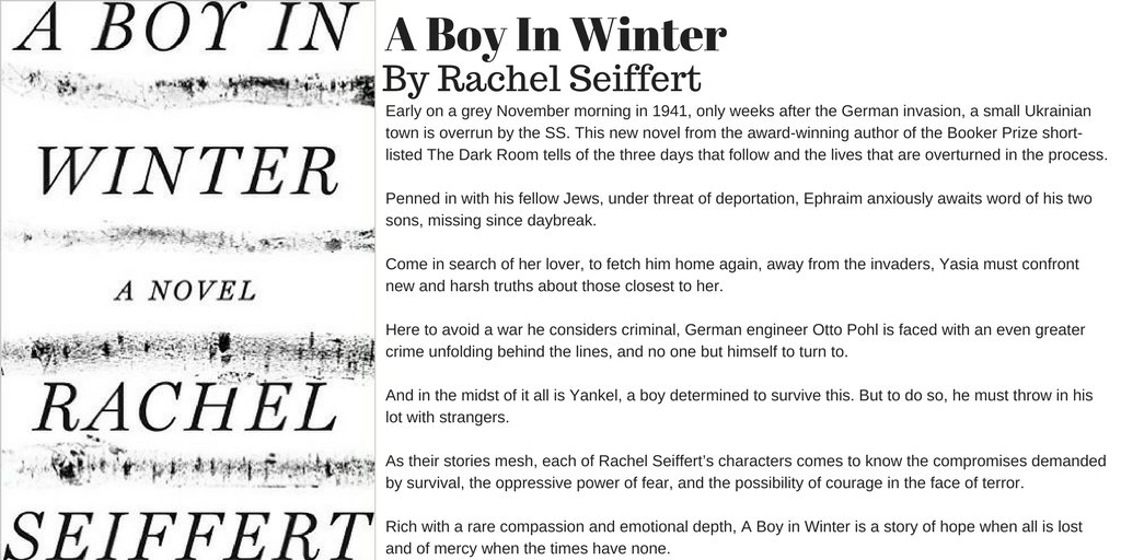 A Boy in Winter by Rachel Seiffert https://t.co/pdBb3lrsZN #Books #Nov...