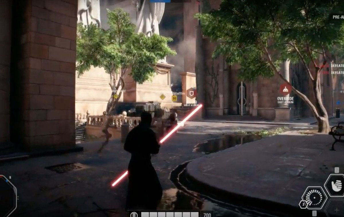 """The Verge on Twitter: """"Leaked Star Wars: Battlefront II gameplay ..."""
