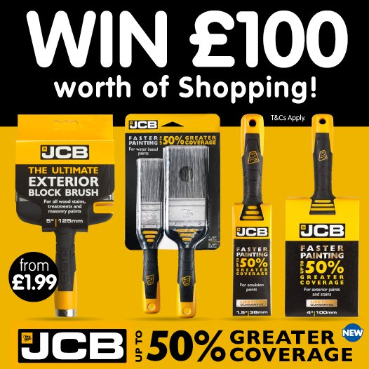 #COMPETITION!  FLW/RT this post for a chance to #WIN £100 Worth of Shopping, thanks to JCB! Competition ends 23:59 30/05/2017<br>http://pic.twitter.com/GYsTiZpQMG