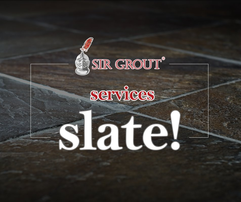 Sir Grout can service all your home #slate needs and customize finishes to your desire! Visit us at:  http:// bit.ly/2h715Xx  &nbsp;  <br>http://pic.twitter.com/d6aLtJUn0y