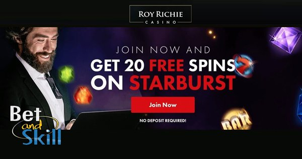 RoyRichie Casino No Deposit Free Spins
