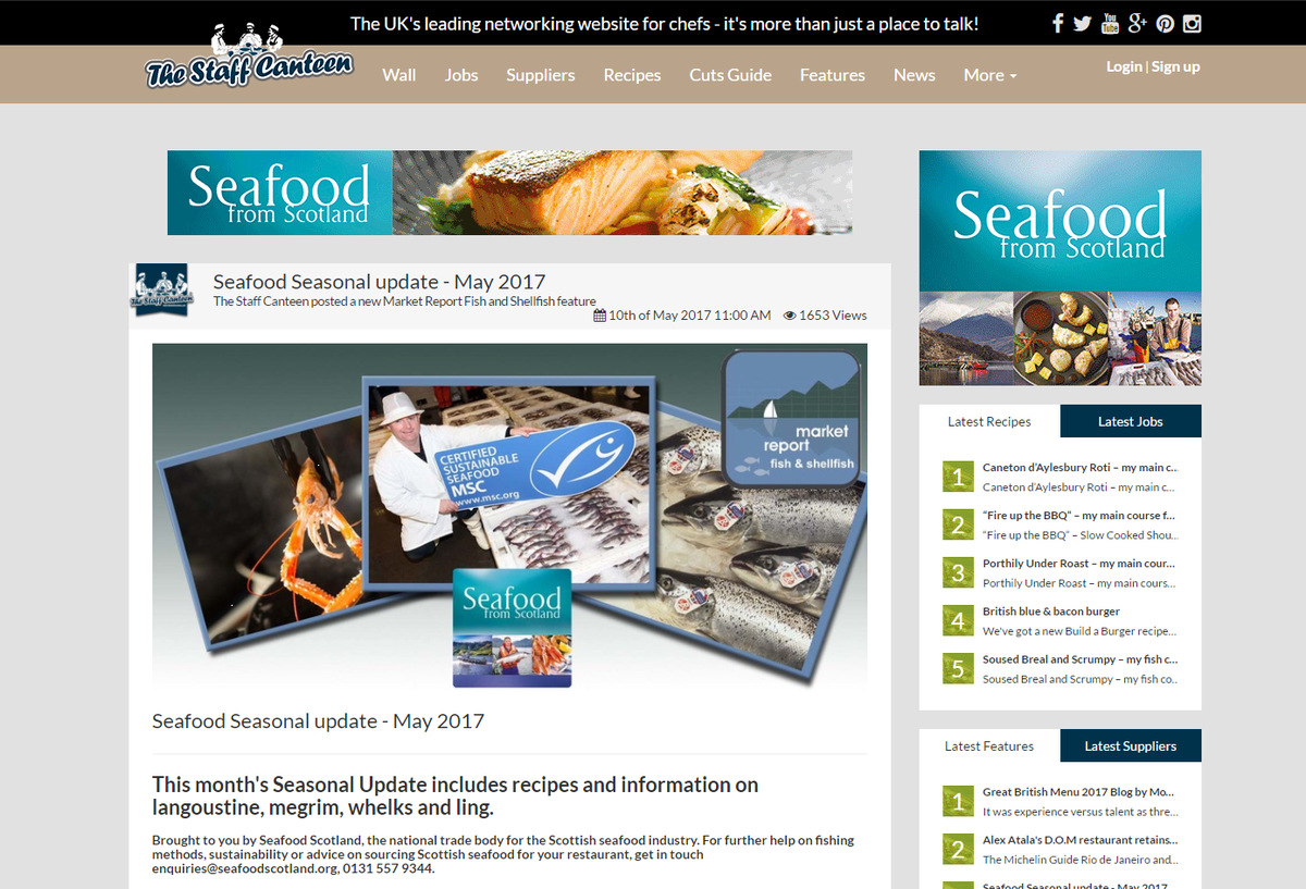 Baffled by #sustainability in the seafood industry? Contact @SeafoodfromScot for advice  http:// ow.ly/ENh630c7LUW  &nbsp;  <br>http://pic.twitter.com/2D7OPDmHQO