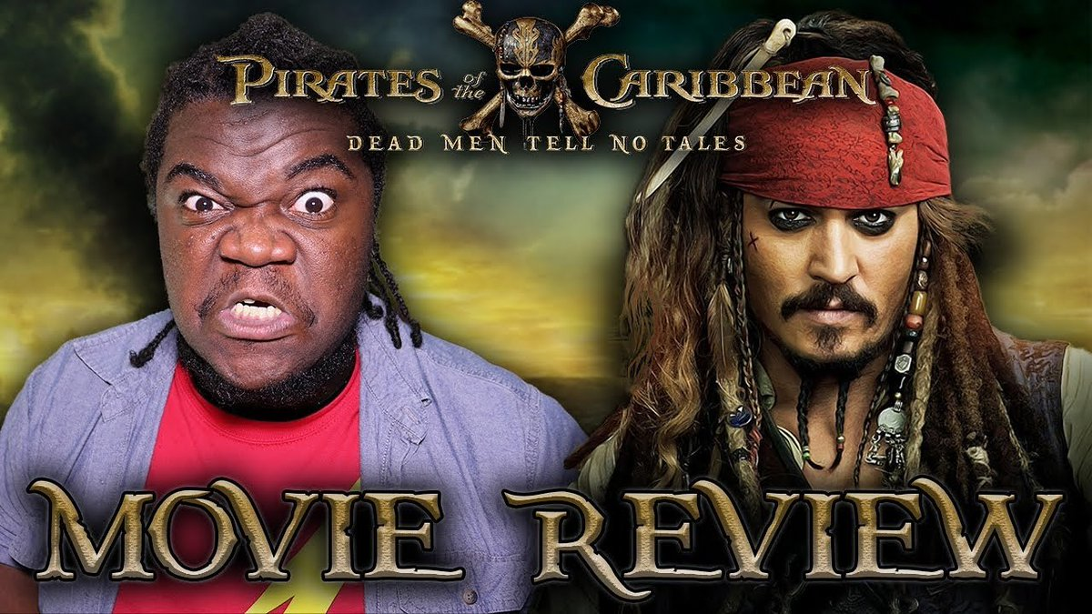 My review is out! Please support    https:// youtu.be/F3eCrR2bH64  &nbsp;   #piratesofthecaribbean5 #PiratesLife #PIRATES #DeadMenTellNoTales<br>http://pic.twitter.com/sVuflPjB52