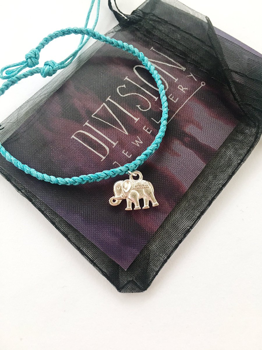 The elephant anklet is now available in blue!    https://www. etsy.com/uk/listing/191 511542/black-plaited-elephant-anklet-happiness &nbsp; …   #jewellery #etsyseller <br>http://pic.twitter.com/QOa76DLJlC
