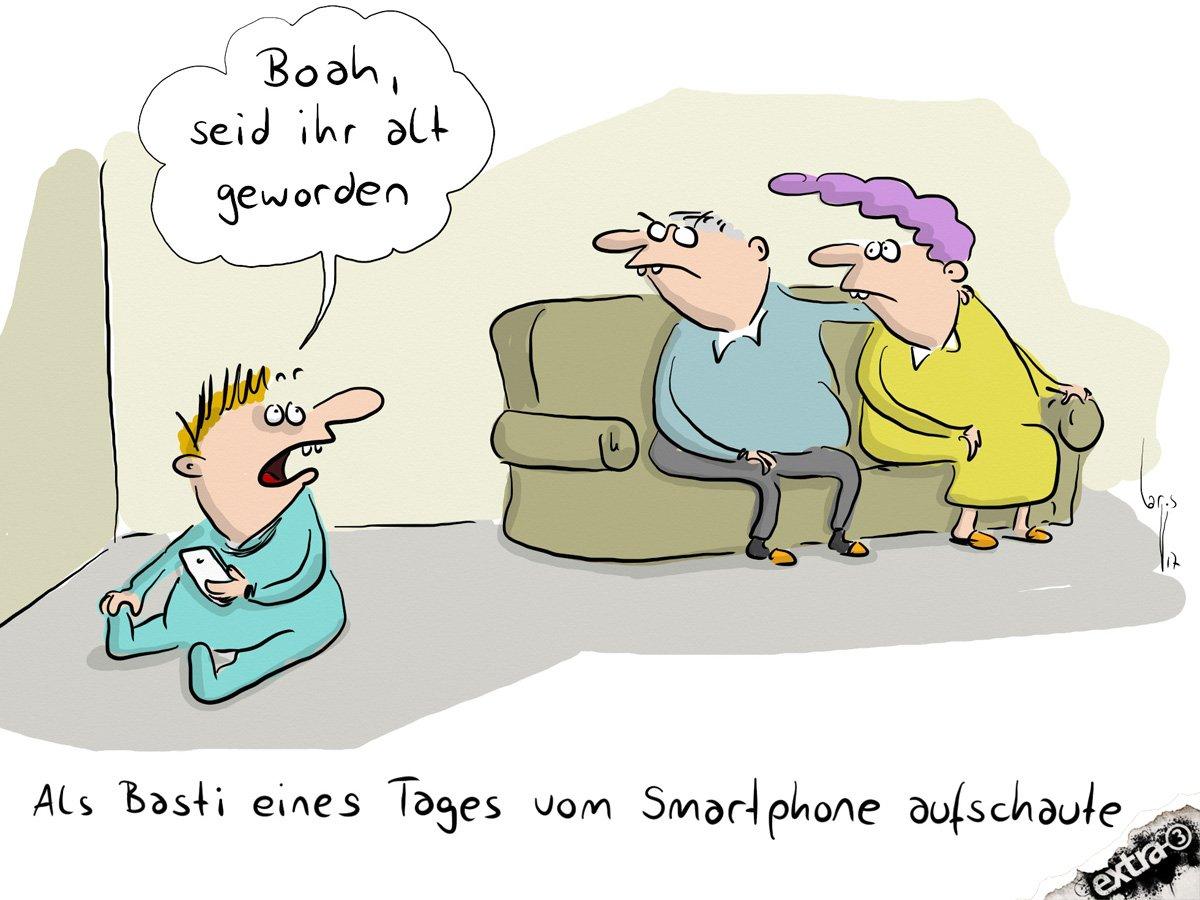 Blikk-Studie alarmiert: Die meisten Kita-Kinder spielen täglich auf dem Smartphone! (Tweet von einem 3jährigen per Smartphone abgesetzt)