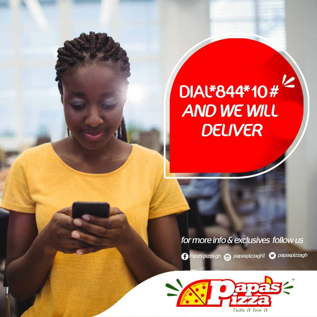 You can now order Papa&#39;s #pizza by simply dialing *844*10# #papaspizzagh  #tasteitloveit<br>http://pic.twitter.com/bx674bzQ1B