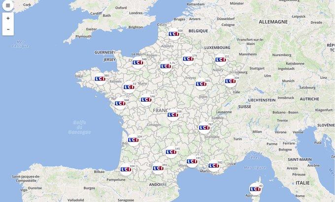 Elections législatives : découvrez les candidats de votre circonscription avec notre carte interactive https://t.co/ejUklgAarv
